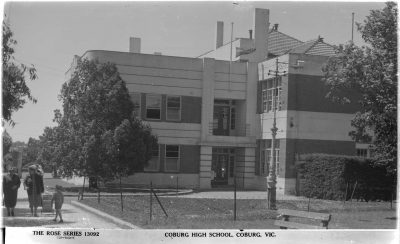Coburg High School (then)