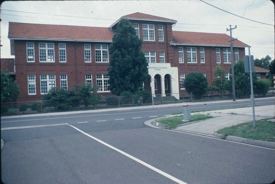 Merlynston Primary School Then