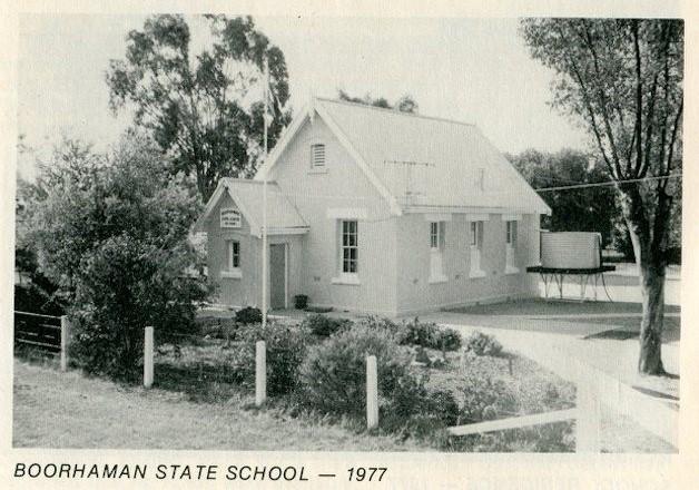 Boorhaman Primary School Then